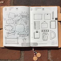 Found an amazing IG account @therevisionguide. So many cool doodles, ideas and tutorials all in one place.