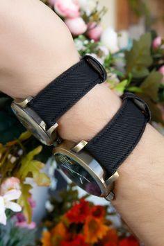 Siyah Kot Tasarım Deri Kordonlu Yeni Sezon Sevgili Saati  #takı #bileklik #saat #kolye #küpe #bilezik #woman #aksesuar #accessorıes #jewellery #toka #earring #yüzük #rings #necklaces #scarves #gözlük #socks #sunglasses #belts #bracelets #watches