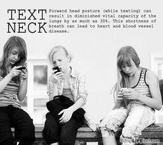 Avoid Text Neck   Preventive Medicine, PC  212 W. Edison Rd. Mishawaka, IN (574) 254-1400