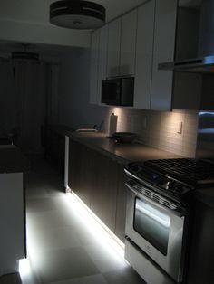 kitchen led lighting ambient led lighting for the kitchen via fero led recessed lighting cove strip 118 best kitchens images on pinterest interior
