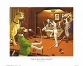Image result for Arthur Sarnoff Dogs Playing Pool