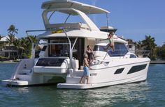 Marine Max 443 Power catamaran charter boat