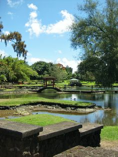 Queen Liliuokalani Gardens. Hilo, Hawaii. Local Japanese culture showcased in this garden near downtown Hilo.