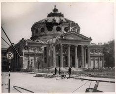 Ateneul după bombardament