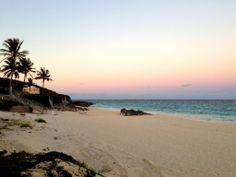 Colorful Beach Sunset, The Bahamas