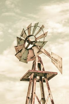 Australian Aermotor Windmill Art Print by Jorgo Photography - Wall Art Gallery. All prints are professionally printed, packaged, and shipped within 3 - 4 business days. Choose from multiple sizes and hundreds of frame and mat options.
