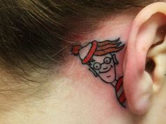 I kinda want a cartoon tattoo now