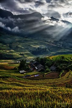 Sunrise in Sapa Vietnam