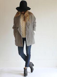 Rachel Comey King Coat - Heather Gray