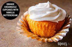 It's finally Spring, and that means one step closer to warmer weather in most parts of the country, especially here in Tulsa! Here is a light, refreshing Orange Creamsicle Cupcake recipe!