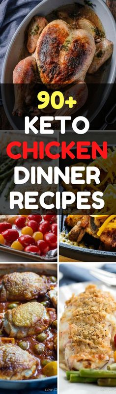 Keto Dinner Recipes: 90+ Easy Chicken Dishes