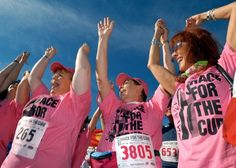 Boston Race for the Cure images--Help Stamp out Breast Cancer  onpoint.wbur.org