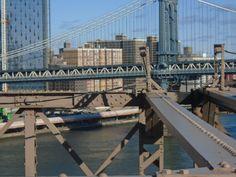 View of Manhattan Bridge from Brooklyn Bridge