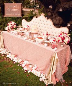 Dessert table by www.LaDolceIdea.us ~ Featured on www.CeremonyMagazine.com (2012)