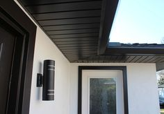 Image result for black fascias and soffits