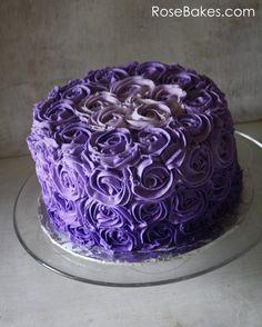 10 Purple Cakes Ideas Purple Cakes Cupcake Cakes Cake
