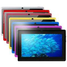 "7 Colors 7"" 8G/16G Quad Core Android 4.4 Tablet PC Capacitive Cortex A7 Cameras http://zingxoom.com/d/cwHHJ7Ow"