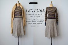 How To Wear Vintage Clothing, Autumn outfit Ideas