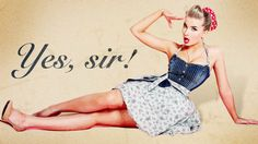 1950′s Pin Up Poster Photoshop Retouching