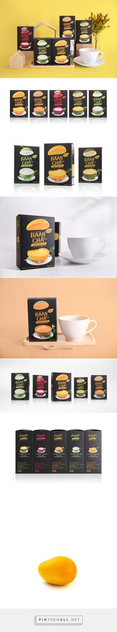 Baancha House of Tea packaging design by adHOCK Studio - www. Cool Packaging, Food Packaging Design, Beverage Packaging, Coffee Packaging, Coffee Branding, Brand Packaging, Branding Design, Identity Branding, Corporate Design