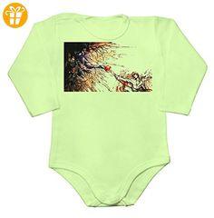Creation of Adam Parody Apple Light Ryuk Baby Long Sleeve Romper Bodysuit Small - Baby bodys baby einteiler baby stampler (*Partner-Link)