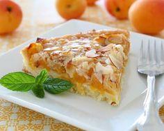 Tarte à l'abricot et aux amandes