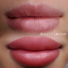 Permanent Lipstick, Permanent Makeup, Matte Lip Color, Lip Colors, Makeup Before And After, Cosmetic Tattoo, Makeup Services, Makeup To Buy, Lip Fillers