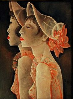 JEANNE MAMMEN  Revuegirls (1928)