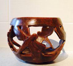 Dragonfly pottery