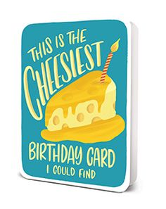 Studio Oh! Deluxe Card Set- Cheesy Card
