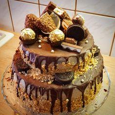 Szülinapi torta Food And Drink, Easter, Sweets, Salad, Cake, Christmas, Children, Xmas, Good Stocking Stuffers