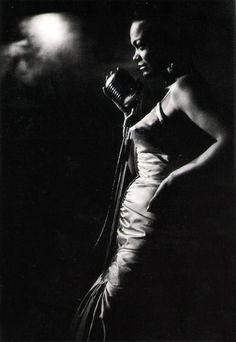 Eartha Kitt, by Ernst Haas, NYC 1952