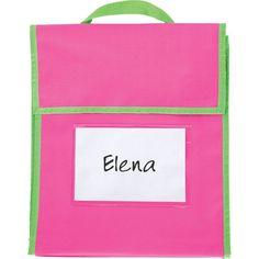 91cff338fde1 Store More® Medium Book Pouches - 4 Pack Single Color Classroom Decor