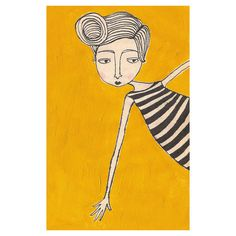 Hey, I found this really awesome Etsy listing at https://www.etsy.com/il-en/listing/59073106/girl-in-stripes-4x6-print