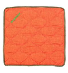 Orange - Dogaddict #dog #mat made with memory foam and upholstered with removable cover non allergenic and breathable. | Materassino relizzato in memory foam e rivestito con cover sfoderabili in materiale antiallergico e traspirante #Chic4Dog