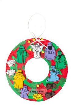 Nativity Wreaths - A