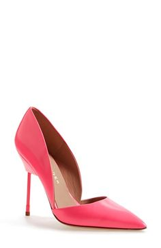 "hot pink ""bond"" pump by kurt geiger"