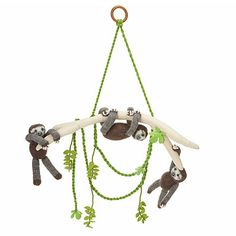 Look what I found at UncommonGoods: Sloth Pals Mobile for $50 #uncommongoods