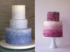 ombre cake in blue and purple - Google Search