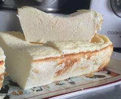 Flan au fromage blanc et citron