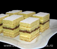 Prajitura cu miere - Honey layer cake