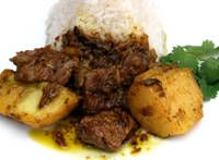 Seco de Cordero - Peruvian Lamb Stew withPotatoes - I Love lamb stew - Now I can have it from Peru!