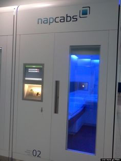'Napcab' Napping Pods Are The Most Genius Way To Survive The Airport