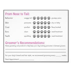 Shop Dog Report Card for Dog Groomers created by PetMarketingToolkits. Dog Grooming Shop, Dog Grooming Salons, Poodle Grooming, Dog Grooming Business, Pet Shop, Can Dogs Eat Strawberries, Black Lab Puppies, Corgi Puppies, Dog Salon