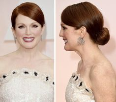 Oscars How to Get Julianne Moore's Winning Updo Oscar Hairstyles, 2015 Hairstyles, Celebrity Hairstyles, Bun Hairstyles, Wedding Hairstyles, Wedding Hair And Makeup, Hair Makeup, Bridal Hair Buns, Wedding Hair Inspiration
