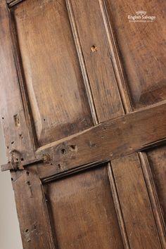 18th Century 6 Panel Oak Door