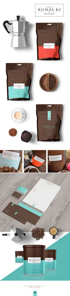 Descripción (Offline | tv/film)    Diseño de marca, identidad corporativa y packging para la empresa mejicana KUNAL KI MEXICAN COFFEE.   Vídeo (tv/film) ...