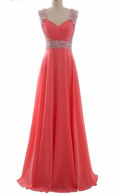 Chiffon A Line Evening Dresses Long Prom Party Gowns Formal Women Wear Lace Up Back Long Prom Dresses Uk, Pretty Prom Dresses, Hoco Dresses, Long Bridesmaid Dresses, Dance Dresses, Cute Dresses, A Line Evening Dress, Evening Dresses, Party Gowns