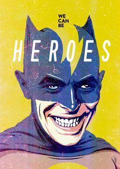 Bowie Batman by Bucher Billy