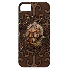 iPhone 5 Steampunk Skull iPhone 5 Covers / Case Unusual and very cool. Mechanical, engineering or steampunk theme. Metal, machinery, industrial and steampunk gift products for sale.
